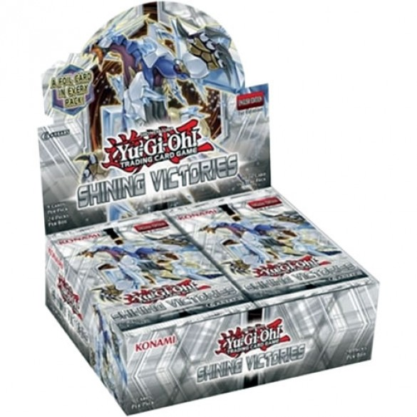 Yu-Gi-Oh! Shining Victories Booster Box 1st Edition