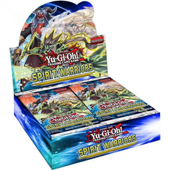 Yu-Gi-Oh! Spirit Warriors Booster Box 1st Edition
