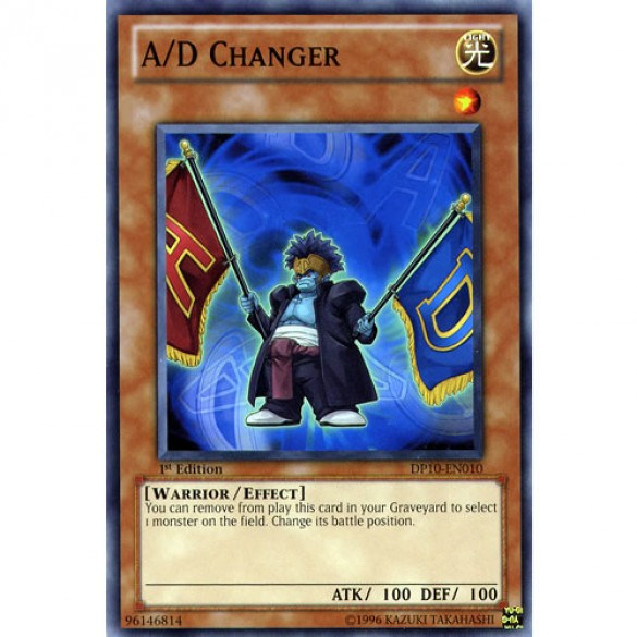 A/D Changer DP10-EN010 1st Edition (Common) Yu-Gi-Oh! Card