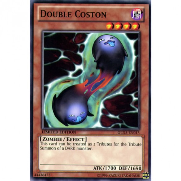 Double Coston GLD5-EN015 Limited Edition (Common) Yu-Gi-Oh! Card