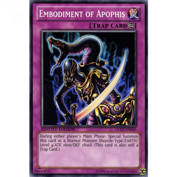 Embodiment of Apophis GLD5-EN050 Limited Edition (Common) Yu-Gi-Oh! Card