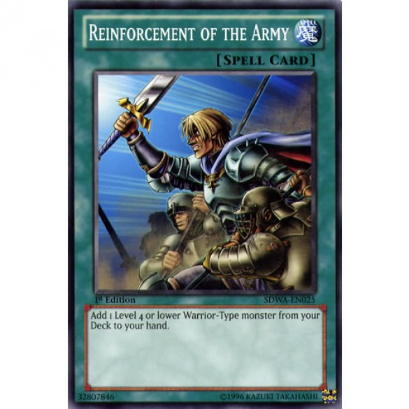 Reinforcement of the Army SDWA-EN025 1st Edition (Common) Yu-Gi-Oh! Card