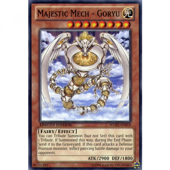 Majestic Mech - Goryu WGRT-EN018 Limited Edition (Common) Yu-Gi-Oh! Card
