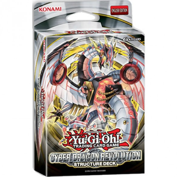 Yu-Gi-Oh! Cyber Dragon Revolution Structure Deck 1st Edition
