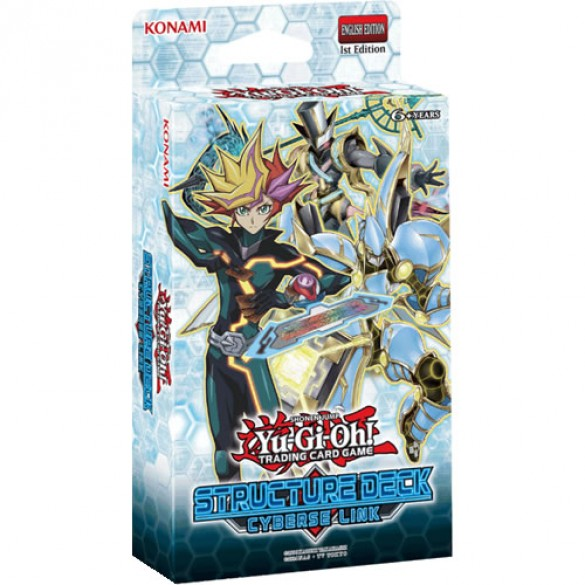 Yu-Gi-Oh! Cyberse Link Structure Deck 1st Edition