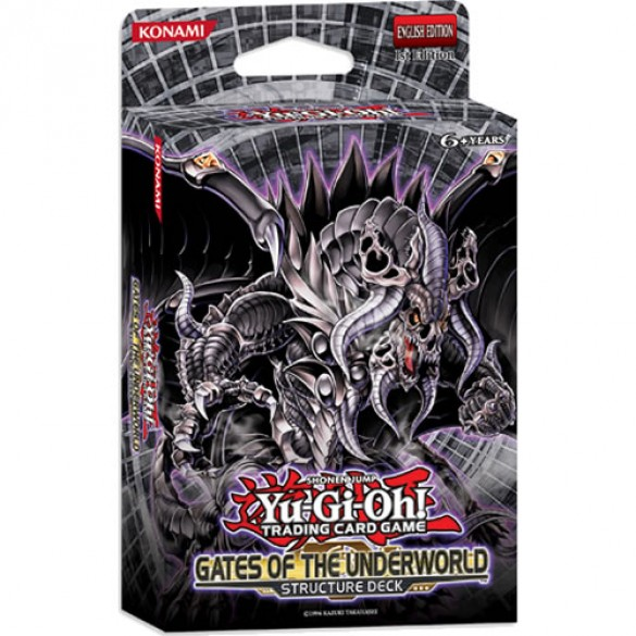 Yu-Gi-Oh! Gates of the Underworld Structure Deck 1st Edition