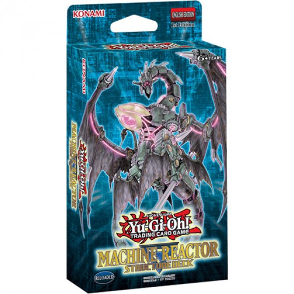 Yu-Gi-Oh! Machine Reactor Structure Deck 1st Edition