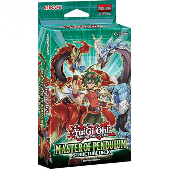 Yu-Gi-Oh! Master of Pendulum Structure Deck 1st Edition