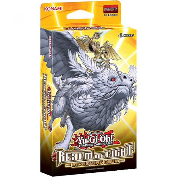 Yu-Gi-Oh! Realm of Light Structure Deck 1st Edition