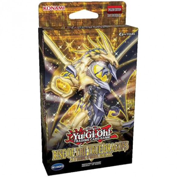 Yu-Gi-Oh! Rise of the True Dragons Structure Deck 1st Edition