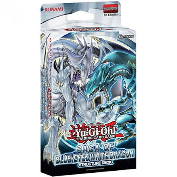 Yu-Gi-Oh! Saga of Blue Eyes White Dragon Structure Deck 1st Edition