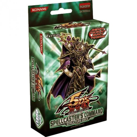 Yu-Gi-Oh! Spellcasters Command Structure Deck 1st Edition
