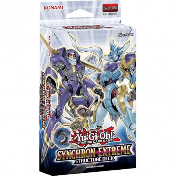 Yu-Gi-Oh! Synchron Extreme Structure Deck 1st Edition