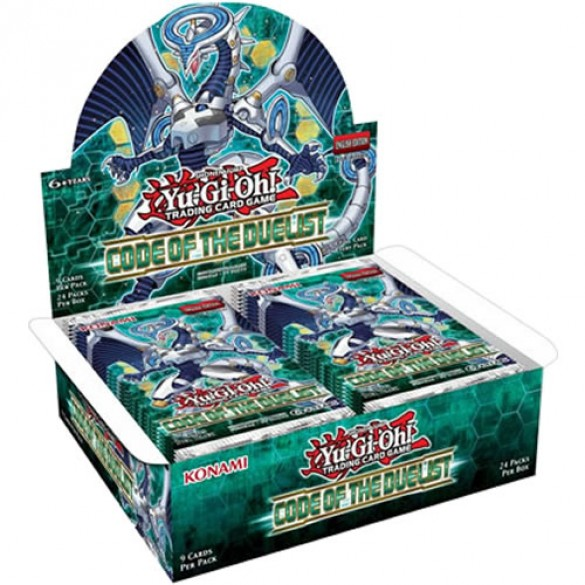 Yu-Gi-Oh! Code of the Duelist Booster Box 1st Edition