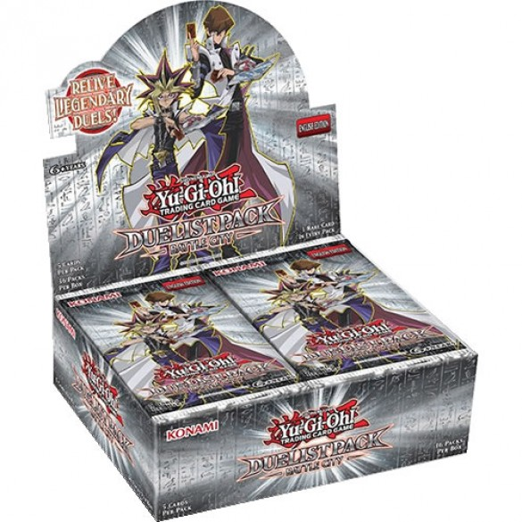 Yu-Gi-Oh! Duelist Pack Battle City Booster Box 1st Edition