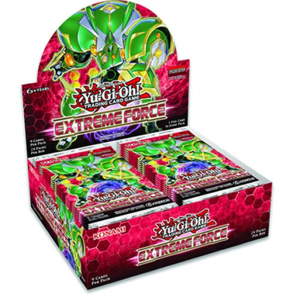 Yu-Gi-Oh! Extreme Force Booster Box 1st Edition
