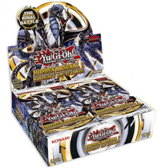 Yu-Gi-Oh! Hidden Arsenal 7 Booster Box - Knight of Stars 1st Edition