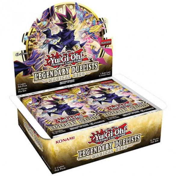 Yu-Gi-Oh! Legendary Duelists: Magical Hero Booster Box Unlimited Edition