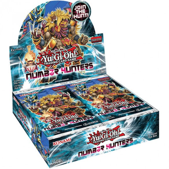 Yu-Gi-Oh! Number Hunters Booster Box 1st Edition