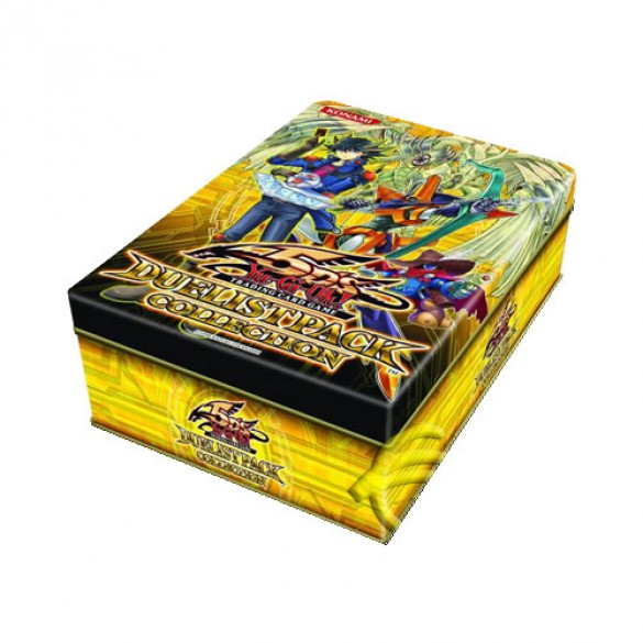 Yu-Gi-Oh! 2010 Duelist Pack Collection Tin - Yellow