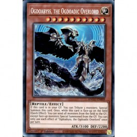 Ogdoabyss, the Ogdoadic Overlord ANGU-EN009 1st Edition (Collectors Rare) Yu-Gi-Oh! Card