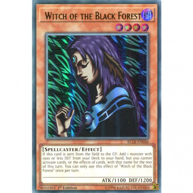 Witch of the Black Forest *Ultra Rare* BLLR-EN046-1st Edition