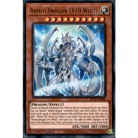 Armed Dragon LV10 White BLVO-EN005 1st Edition (Ultra Rare) Yu-Gi-Oh! Card
