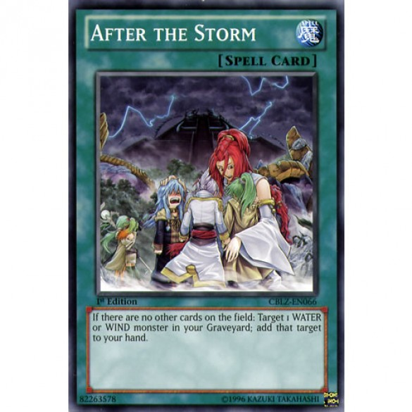 After the Storm CBLZ-EN066 1st Edition (Common) Yu-Gi-Oh! Card
