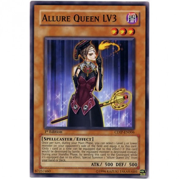 Allure Queen LV3 CDIP-EN006 Unlimited Edition (Common) Yu-Gi-Oh! Card