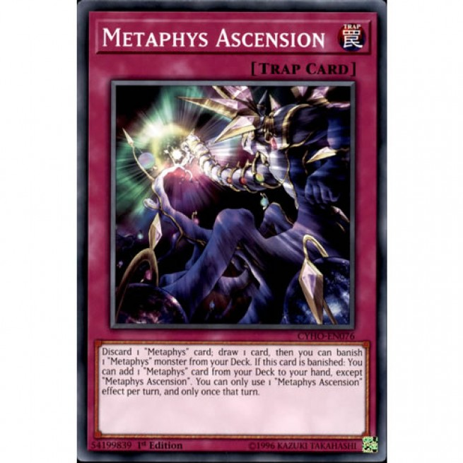 Common Card 1st Edition Yu-Gi-Oh: METAPHYS ASCENSION CYHO-EN076