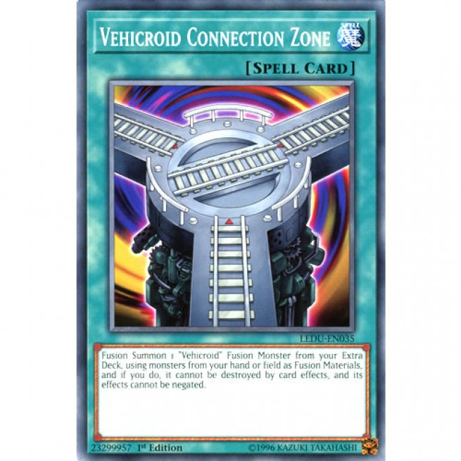 LEDU-EN035 1ST EDITION YU-GI-OH CARD VEHICROID CONNECTION ZONE