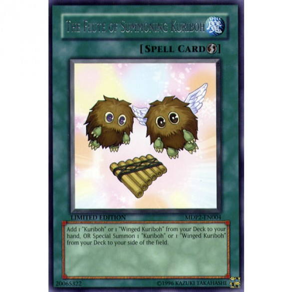 The Flute of Summoned Kuriboh MDP2-EN004 Limited Edition (Rare) Yu-Gi-Oh! Card