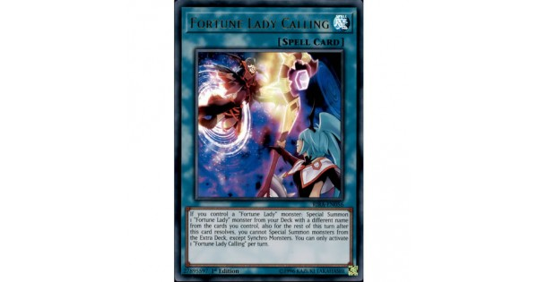 fortune lady calling RIRA-EN056 ultra rare 1st edition