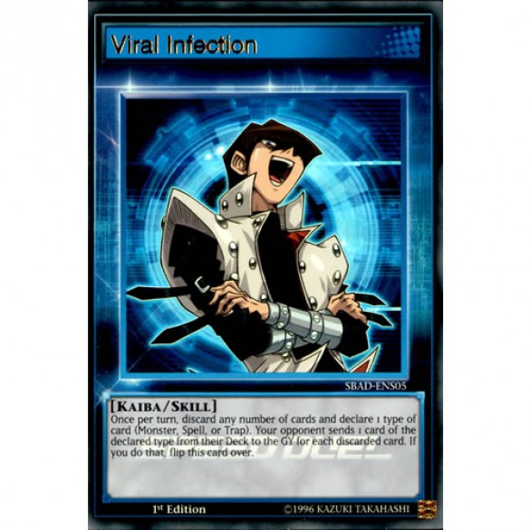 Viral Infection SBAD-ENS05 1st Edition (Ultra Rare) Yu-Gi-Oh! Card