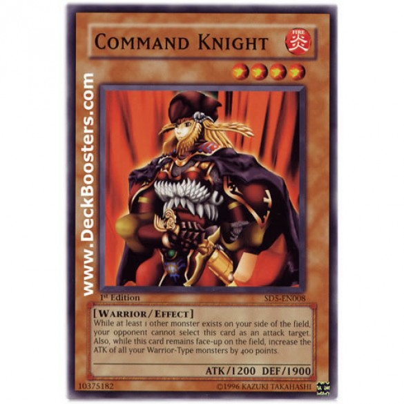 Command Knight SD5-EN008 1st Edition (Common) Yu-Gi-Oh! Card