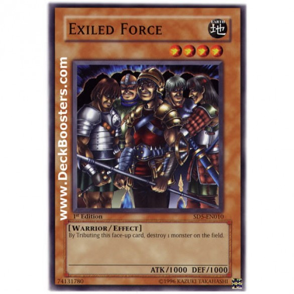 Exiled Force SD5-EN010 1st Edition (Common) Yu-Gi-Oh! Card