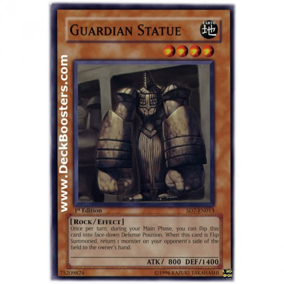 Guardian Statue SD7-EN013 1st Edition (Common) Yu-Gi-Oh! Card