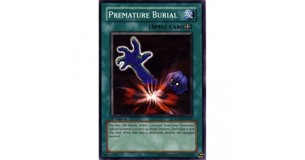 Premature Burial SDRL-EN024 Unlimited Edition (Common) Yu-Gi-Oh! Card