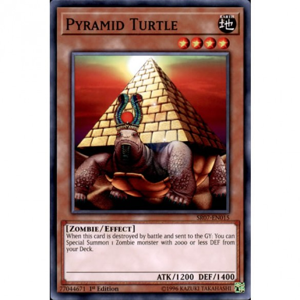 Pyramid Turtle SR07-EN015 1st Edition (Common) Yu-Gi-Oh! Card