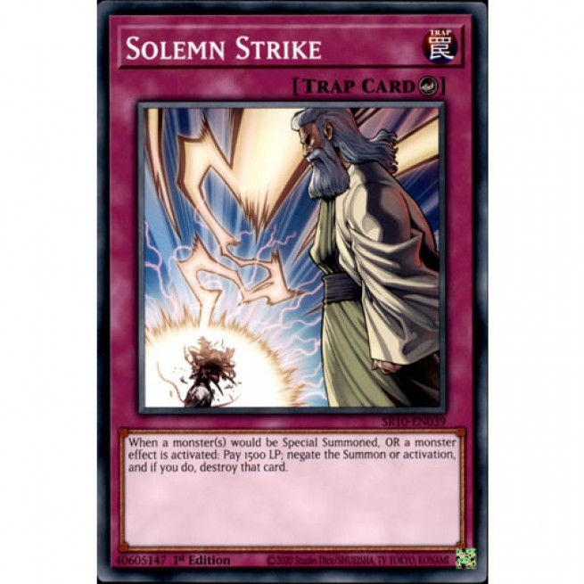 3 Back to the Front,PLAYSET,1st Edition,Common,SR10,NM,Yugioh,Barngey/'s
