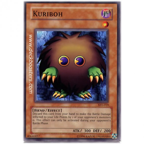 Kuriboh SYE-019 Unlimited Edition (Common) Yu-Gi-Oh! Card