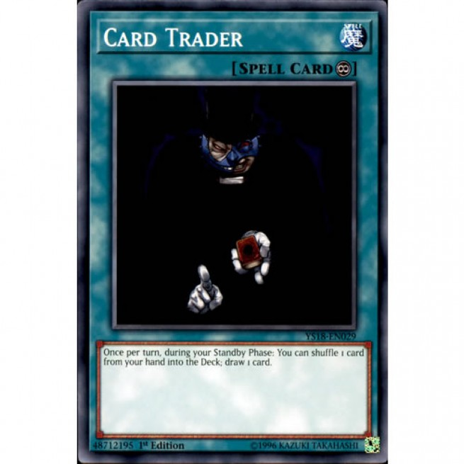 Card Trader YS18-EN029 1st Edition Common