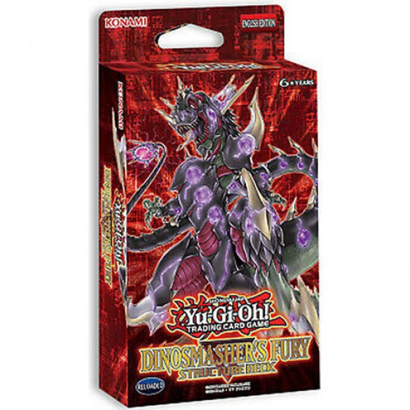 Yu-Gi-Oh! Dinomashers Fury Structure Deck Unlimited Edition