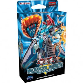 Yu-Gi-Oh! Mechanized Madness Structure Deck 1st Edition