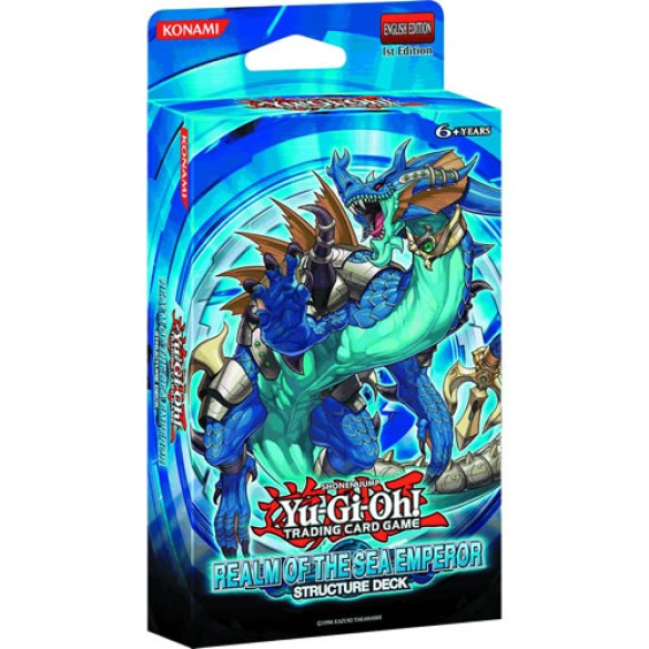 Yu-Gi-Oh! Realm of the Sea Emperor Structure Deck 1st Edition