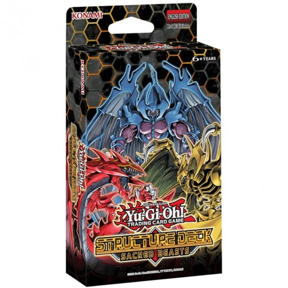Yu-Gi-Oh! Sacred Beasts Structure Deck 1st Edition